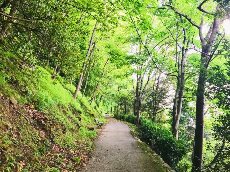 Hiking on Mount Urgull