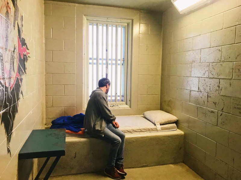 Cell at the Kingston Pen