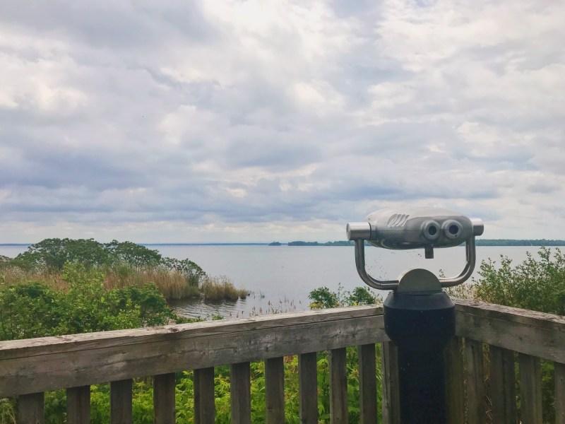 Plateforme lac Saint-François