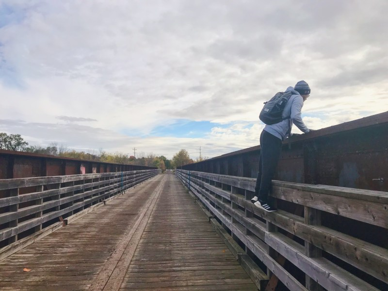 Pont sur la rivière Nation