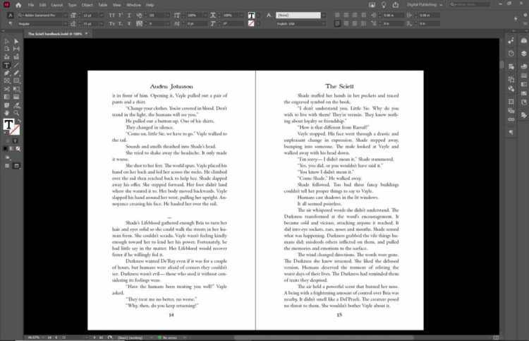 Paperback Book Formatting