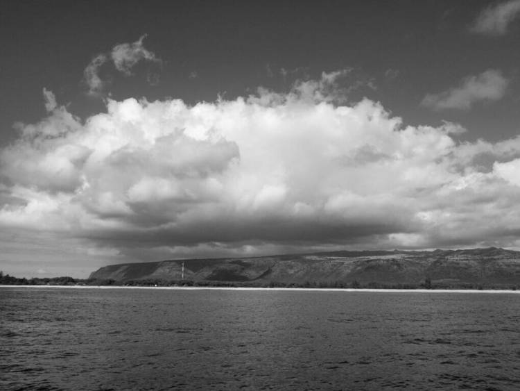 Cloud Cover in Black and White
