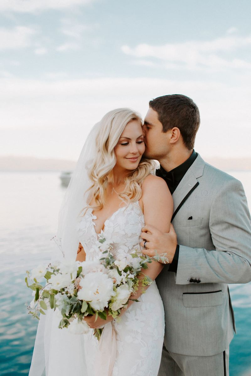 Kristy & Blake's Modern Fairytale Wedding at West Shore Café