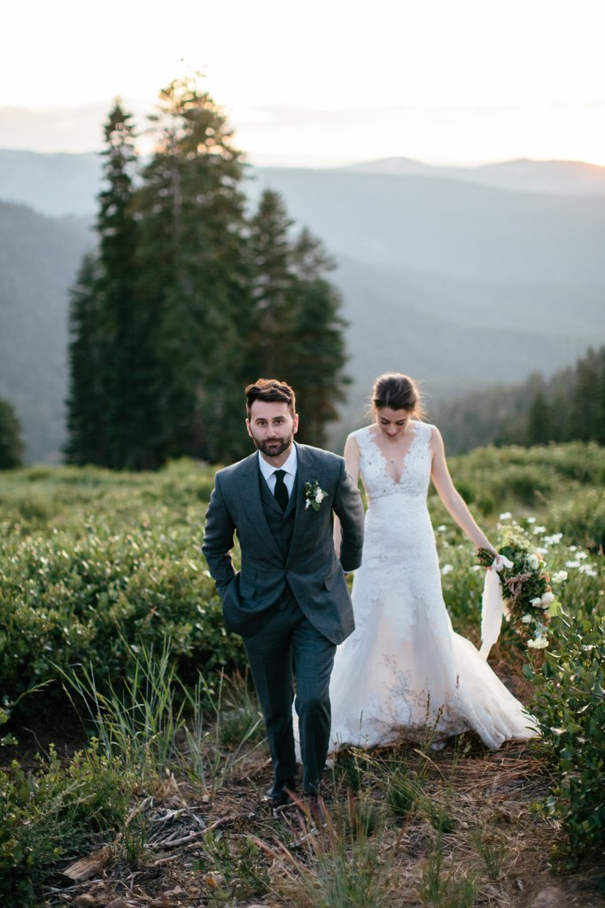Rustic Industrial Mountain Top Wedding