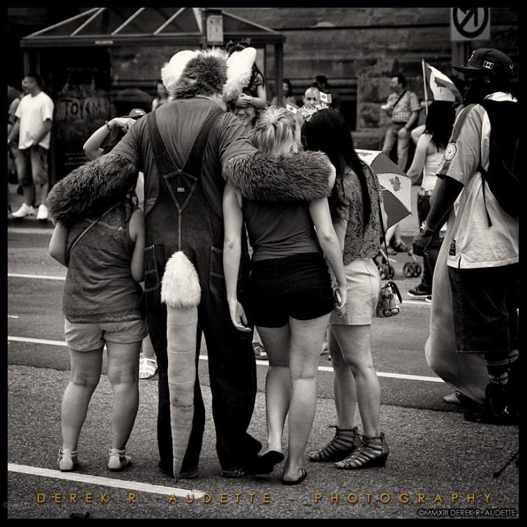 Rat Man -- Street Photography by Derek R. Audette