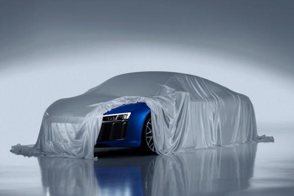 Audi zeigt Laser-Scheinwerfer des neuen R8