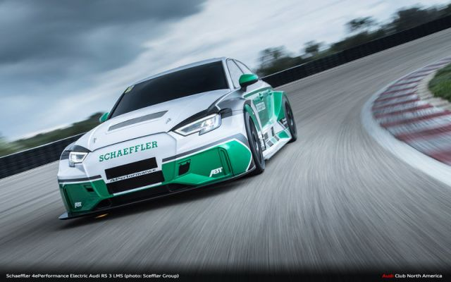 Schaeffler Builds 1200 hp Electric quattro RS 3 LMS Because They Can