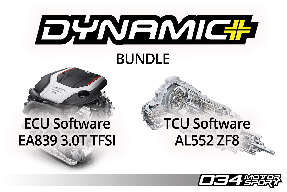 034Motorsport B9 Audi S4/S5/SQ5 EA839 3.0T Dynamic+ Performance ECU & AL552 ZF8 Transmission Tuning Bundle