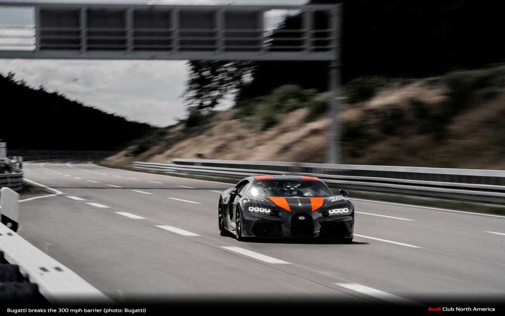 World Record: Bugatti Breaks The 300 MPH Barrier