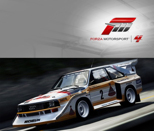 Forza Horizon 4 Car List Revealed Audi Well Represented Audi