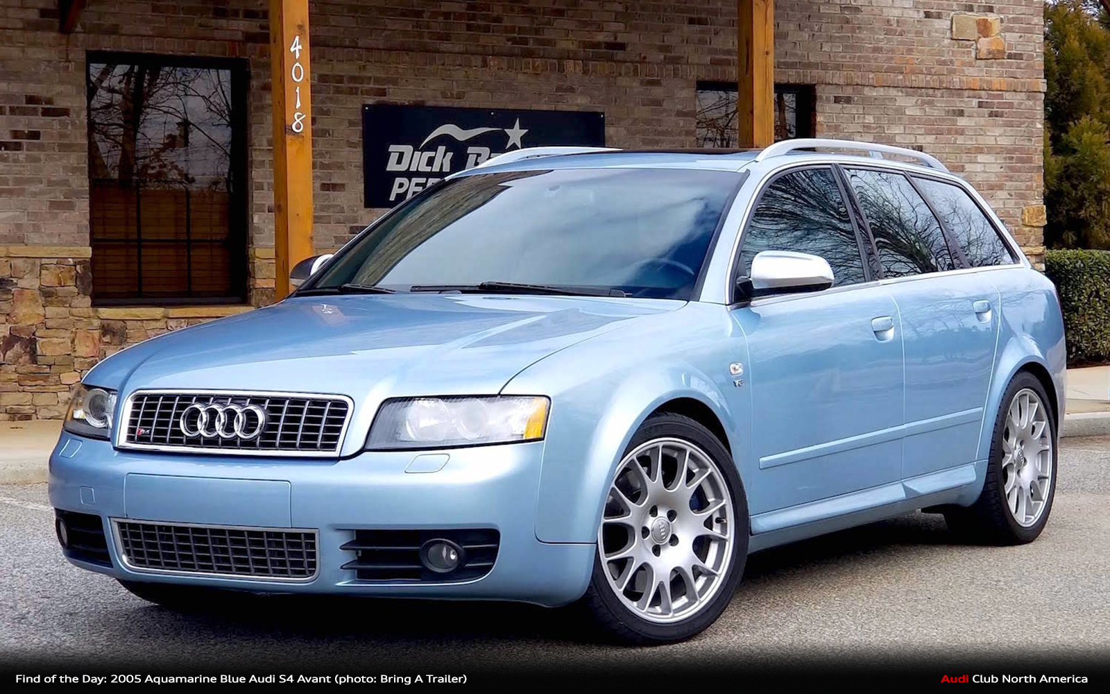 Find of the Day: 2005 Aquamarine Blue S4 Avant