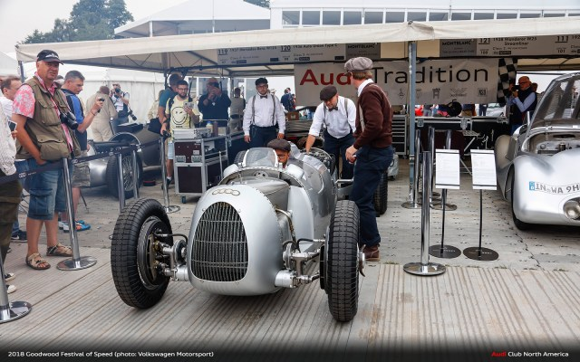 Watch Hans J Stuck Run Goodwood in Auto Union Type C