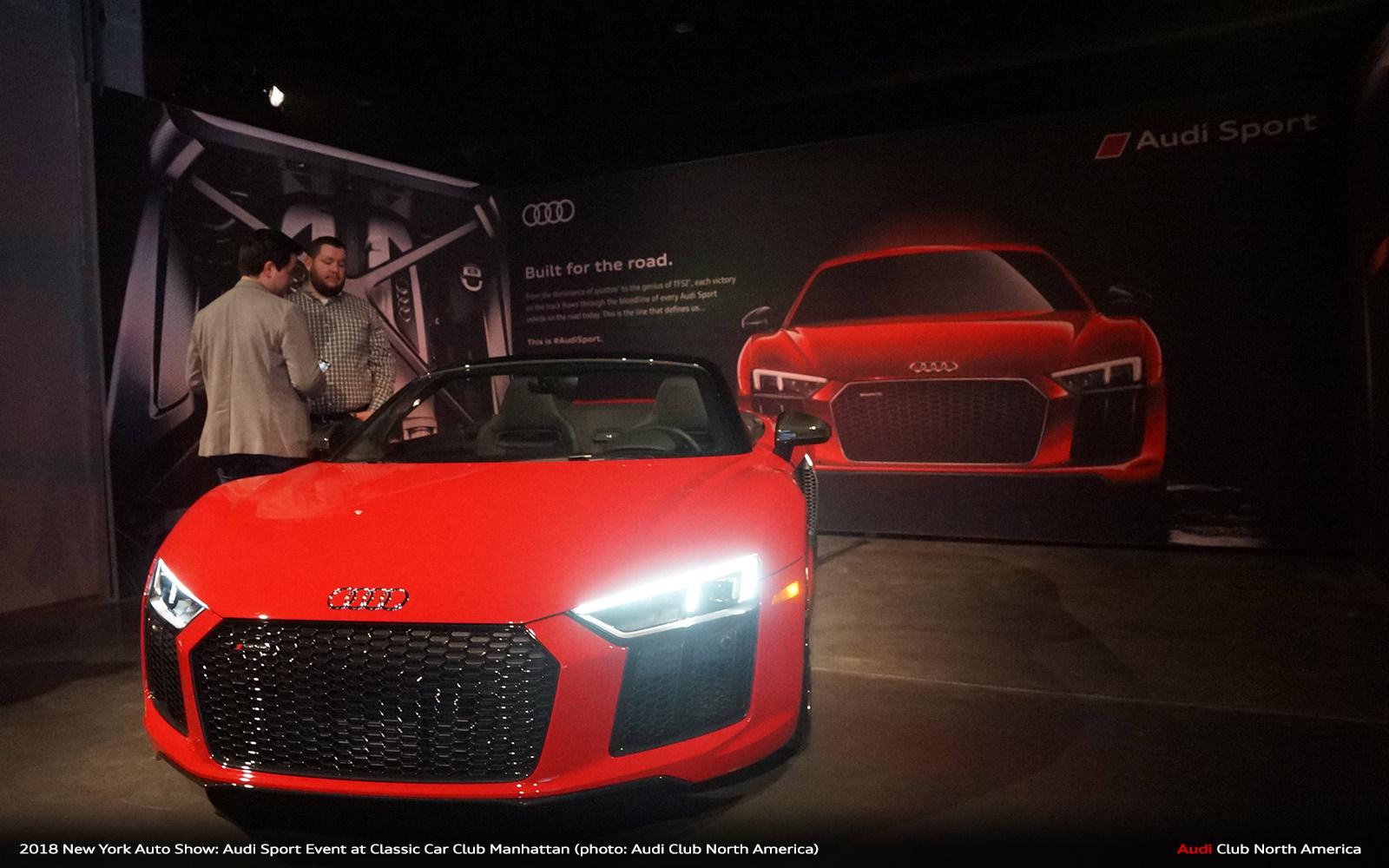 2018 Ny Auto Show Audi Rs5 Sportback Ccc 441 Audi Club North America