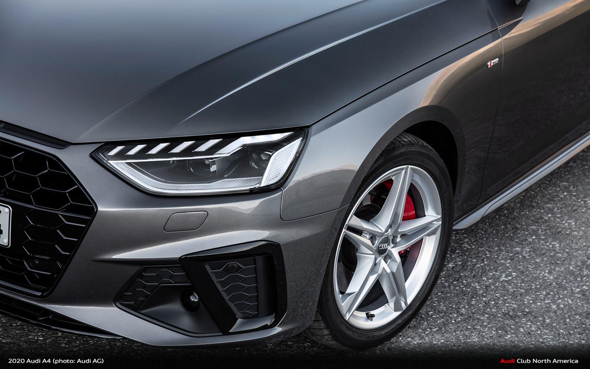 Get 2020 Audi A4 Sedan