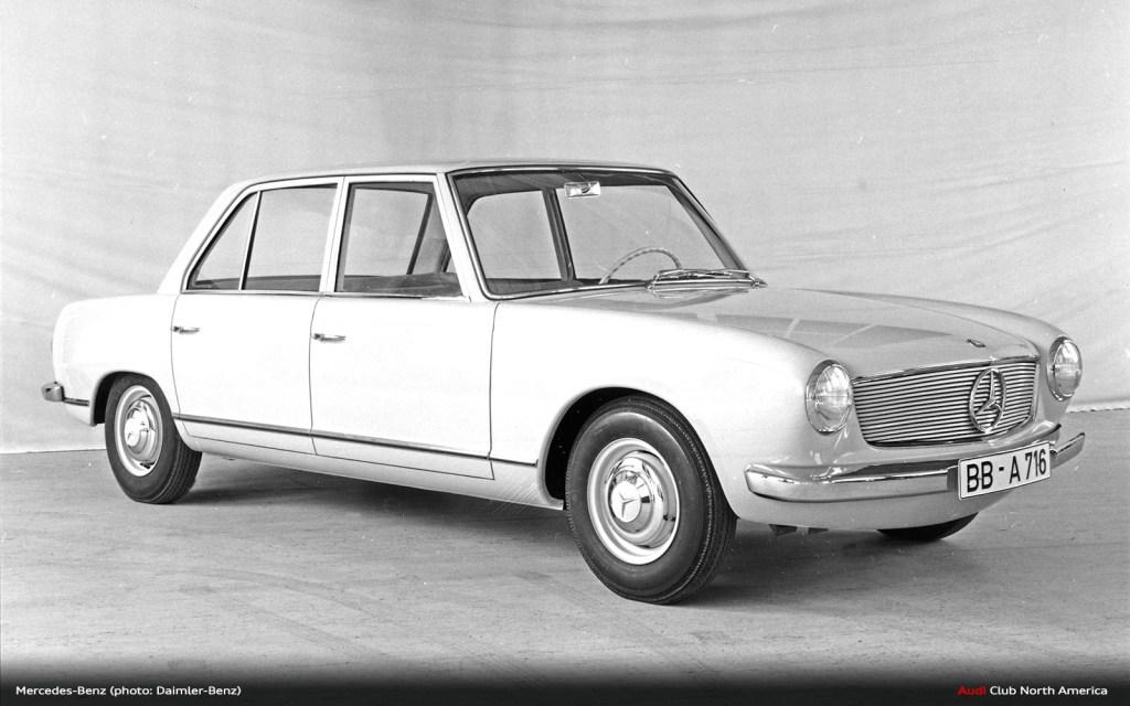 60 Years Ago, Daimler-Benz Acquired Auto Union