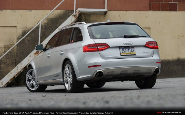 Find of the Day: 2014 Audi allroad Premium Plus - Former fortitude