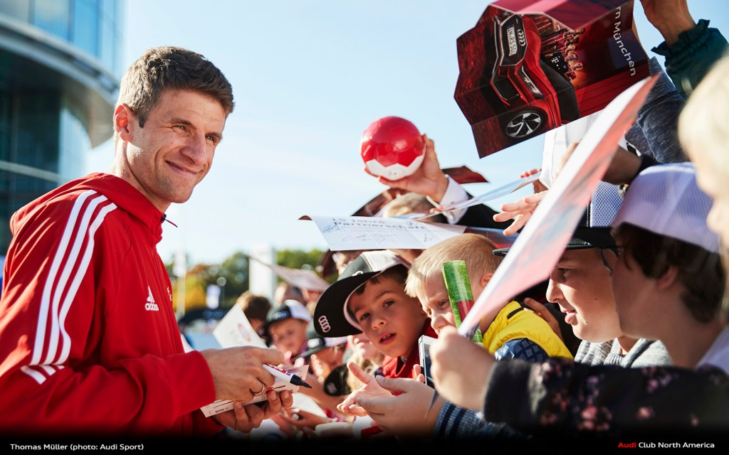"""Müller: """"The Audi Cup will be really exciting"""""""