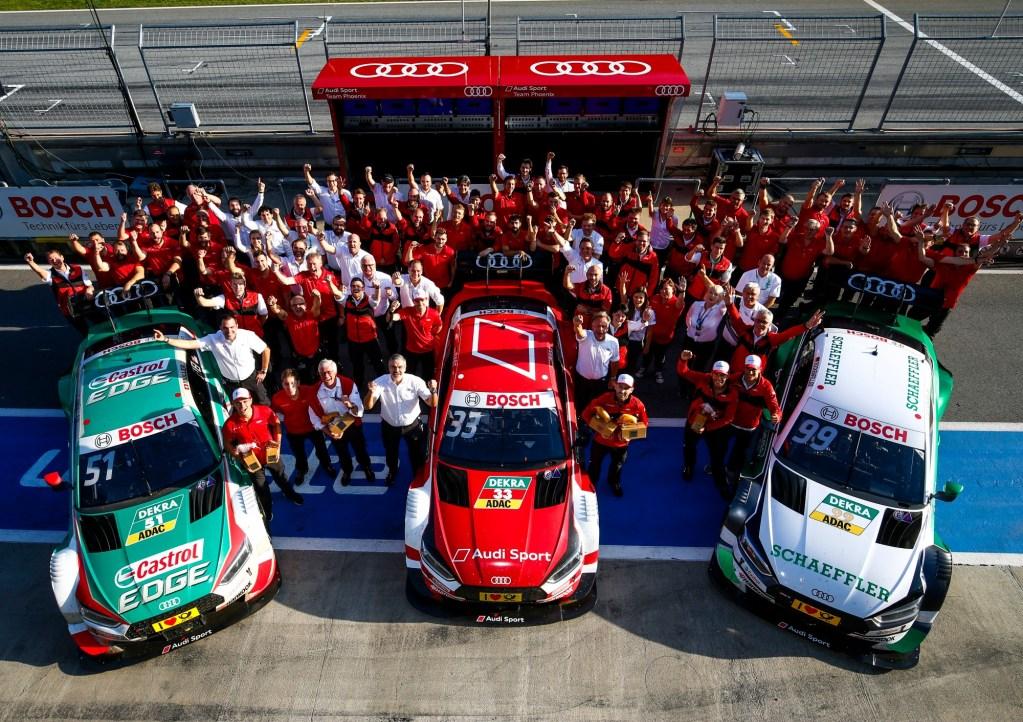 DTM Finale: Audi Driver René Rast Fights For Second Title