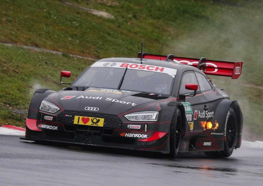 From Hunter to Hunted: The New Audi RS 5 DTM