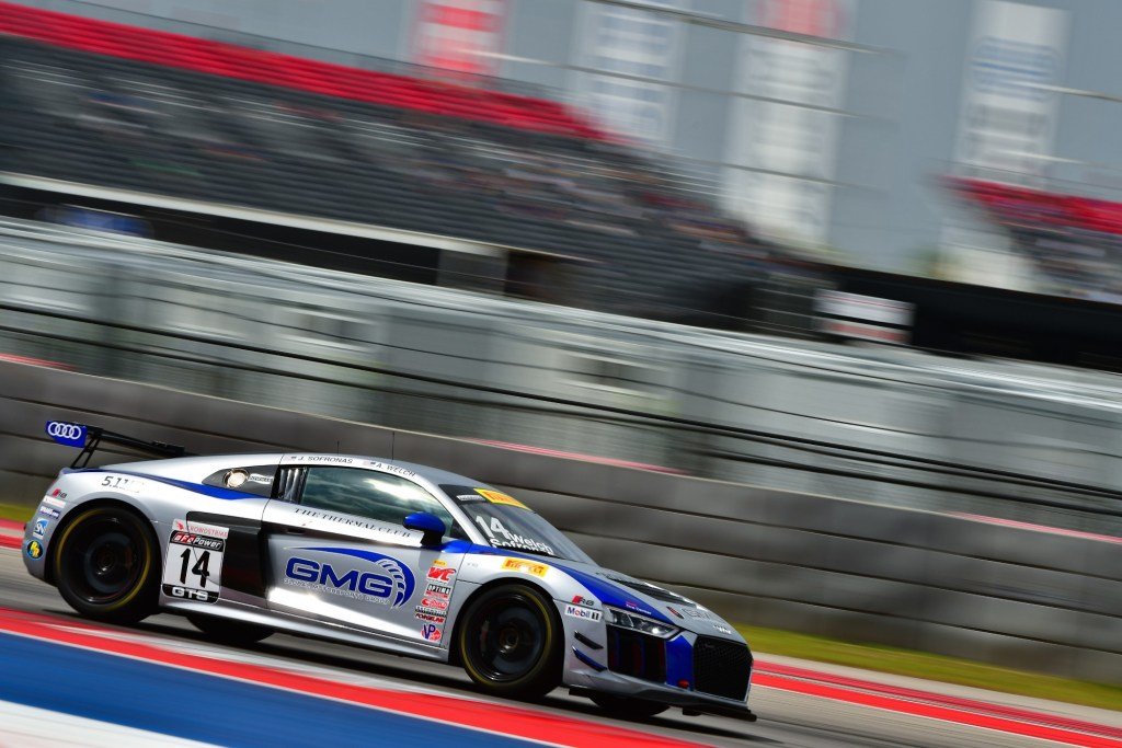 First Victory for Audi R8 LMS GT4 in the United States