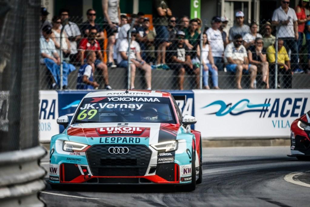 Jean-Karl Vernay Best Audi Driver in FIA WTCR