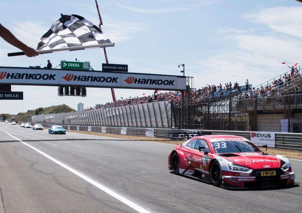DTM Zandvoort: René Rast Takes First Win of Season for Audi RS 5 DTM