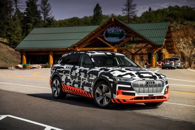Take Charge:  Audi e-tron prototype – Recuperation Test