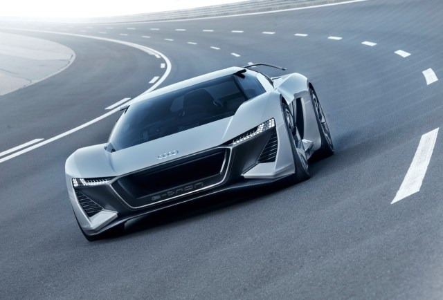 World Premiere at Pebble Beach –  The Audi PB18 e-tron concept car