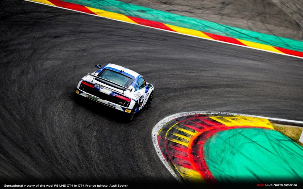 Sensational Victory of the Audi R8 LMS GT4 in GT4 France
