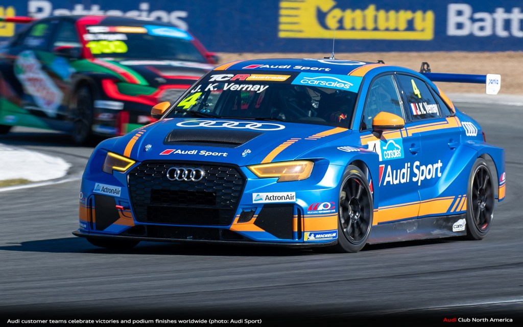 Audi Customer Teams Celebrate Victories and Podium Finishes Worldwide