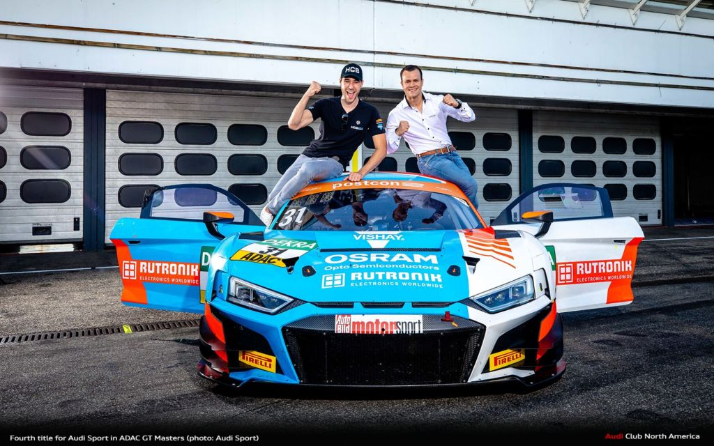 Fourth Title For Audi Sport in ADAC GT Masters