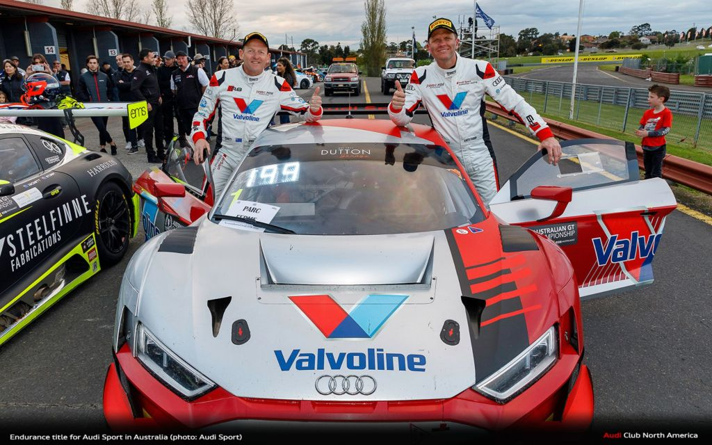 Endurance Title for Audi Sport in Australia