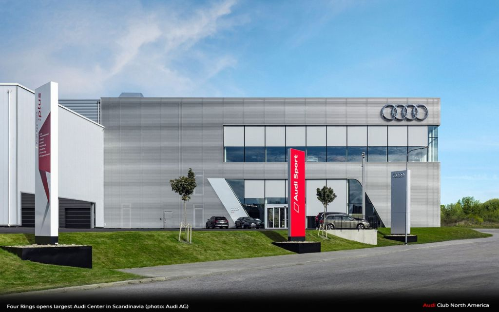 Four Rings Opens Largest Audi Center In Scandinavia