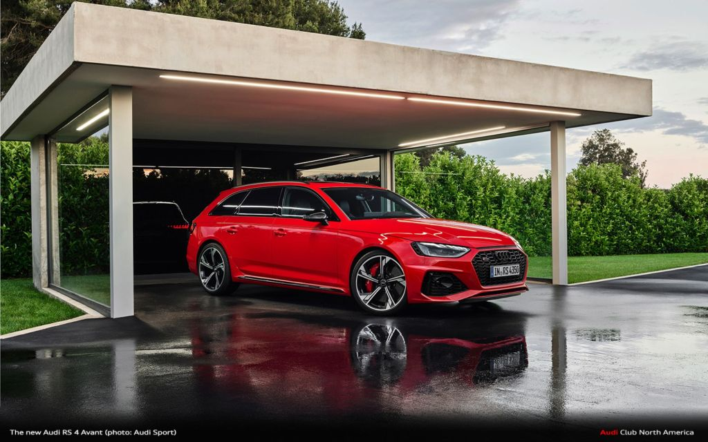 Update For The Powerful Wagon: The New Audi RS 4 Avant
