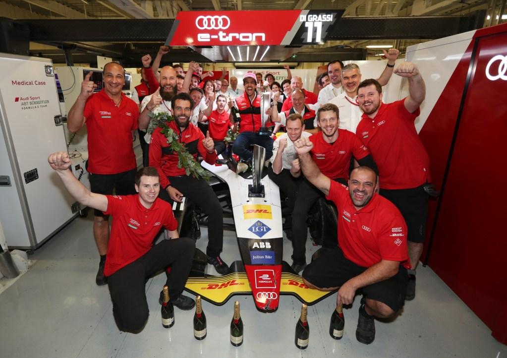 Hat-Trick for Audi: Lucas di Grassi Wins in Mexico