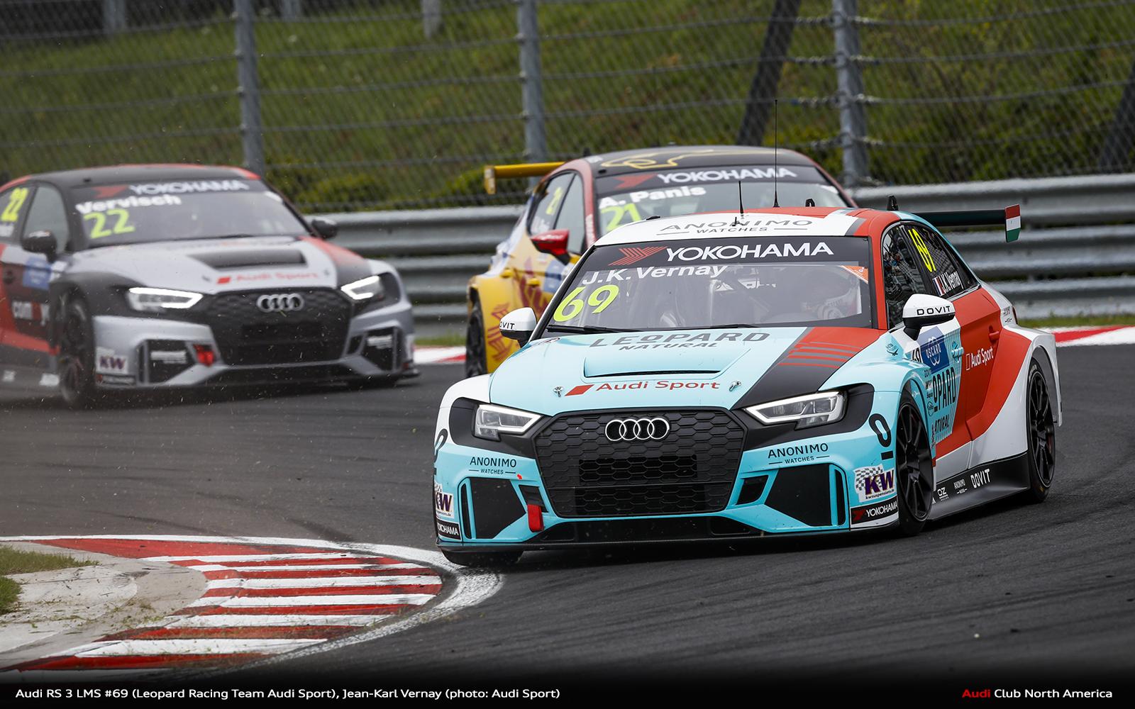 Third Podium Result for Audi Sport in 2019 FIA WTCR