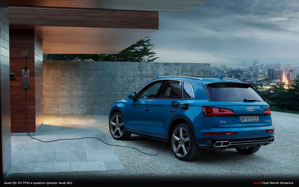 Sporty and Efficient with Plug-In Hybrid Drive: The Audi Q5 55 TFSI e quattro