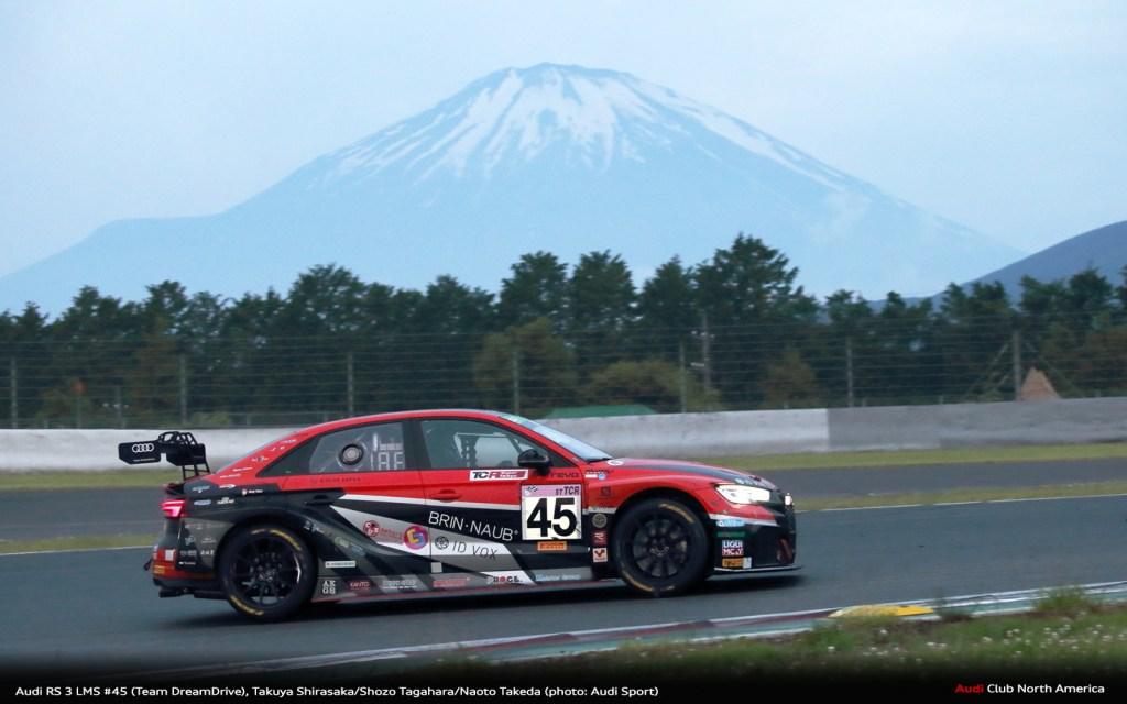 Audi RS 3 LMS Wins Fuji 24 Hours