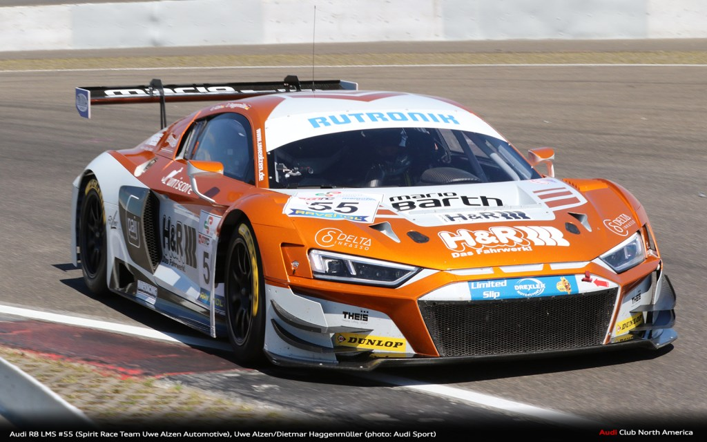 Victories for the Audi R8 LMS at the Nürburgring