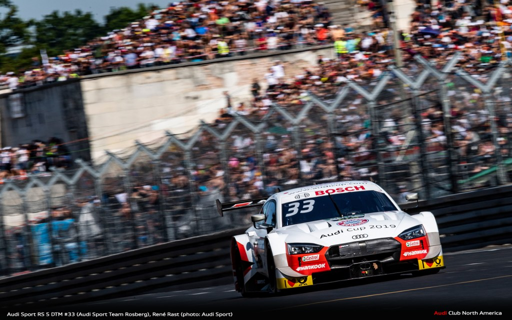 From Zero to Hero: Rast Wins at Audi's Home Round
