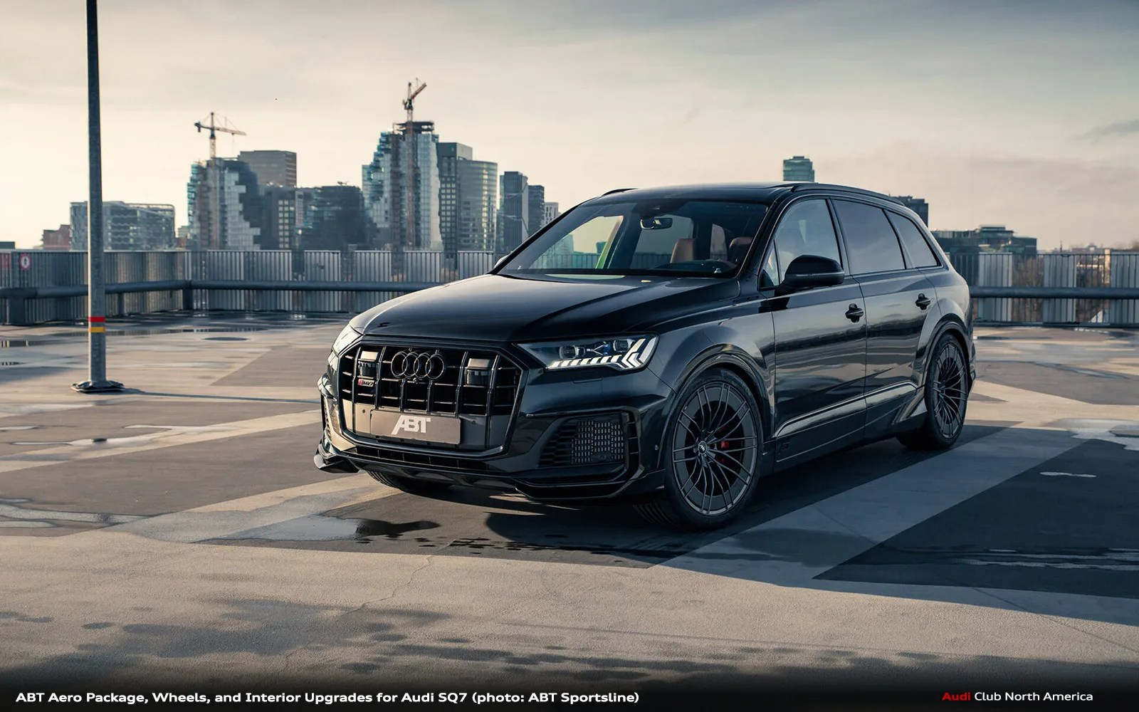 ABT Sportsline Aero Package, Wheels, and Interior Upgrades for Audi SQ7