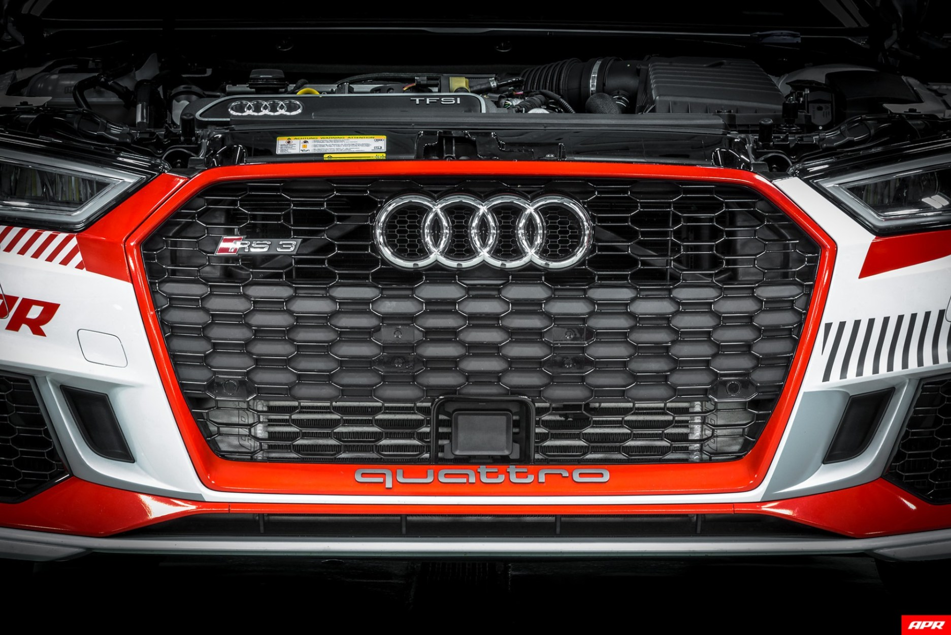 The APR RS 3 Front Mount Intercooler System (FMIC)