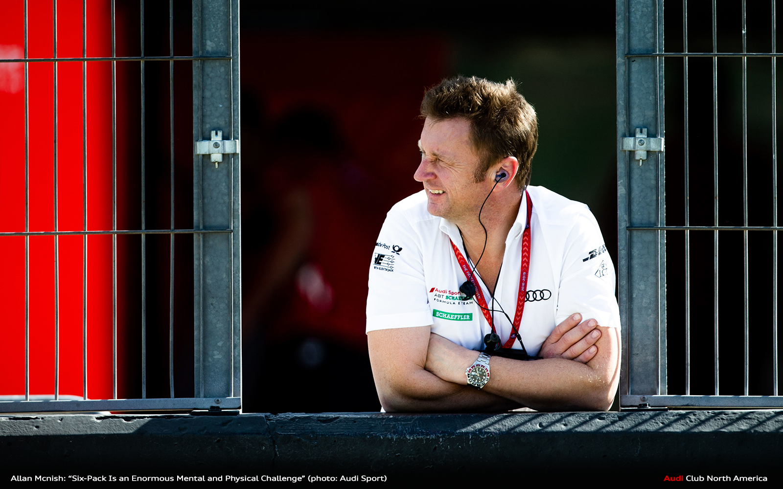 "Allan McNish: ""Six-Pack Is an Enormous Mental and Physical Challenge"""
