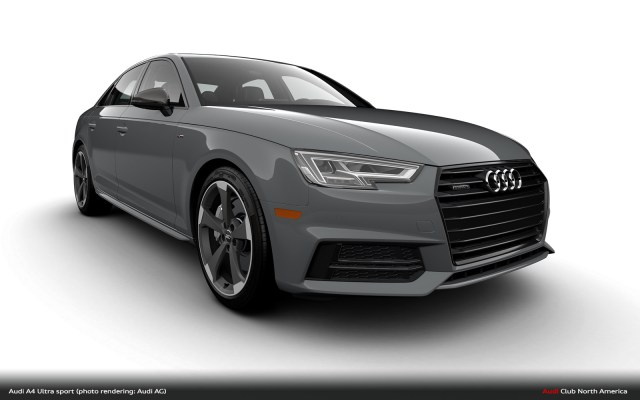 Audi A4 Ultra sport Returns, Manual Only and Highly Limited - Audi