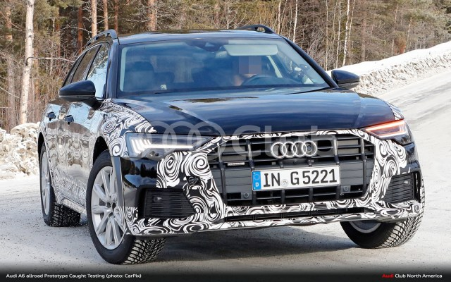 Audi A6 allroad Spied Testing. Will It Come to USA?
