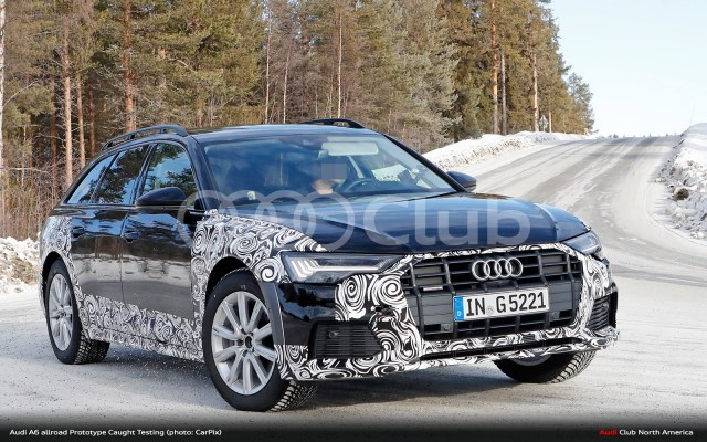 Audi A6 Allroad Spied Testing Will It Come To Usa Audi Club