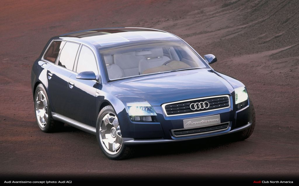 #ThrowbackThursday: Audi Avantissimo Concept