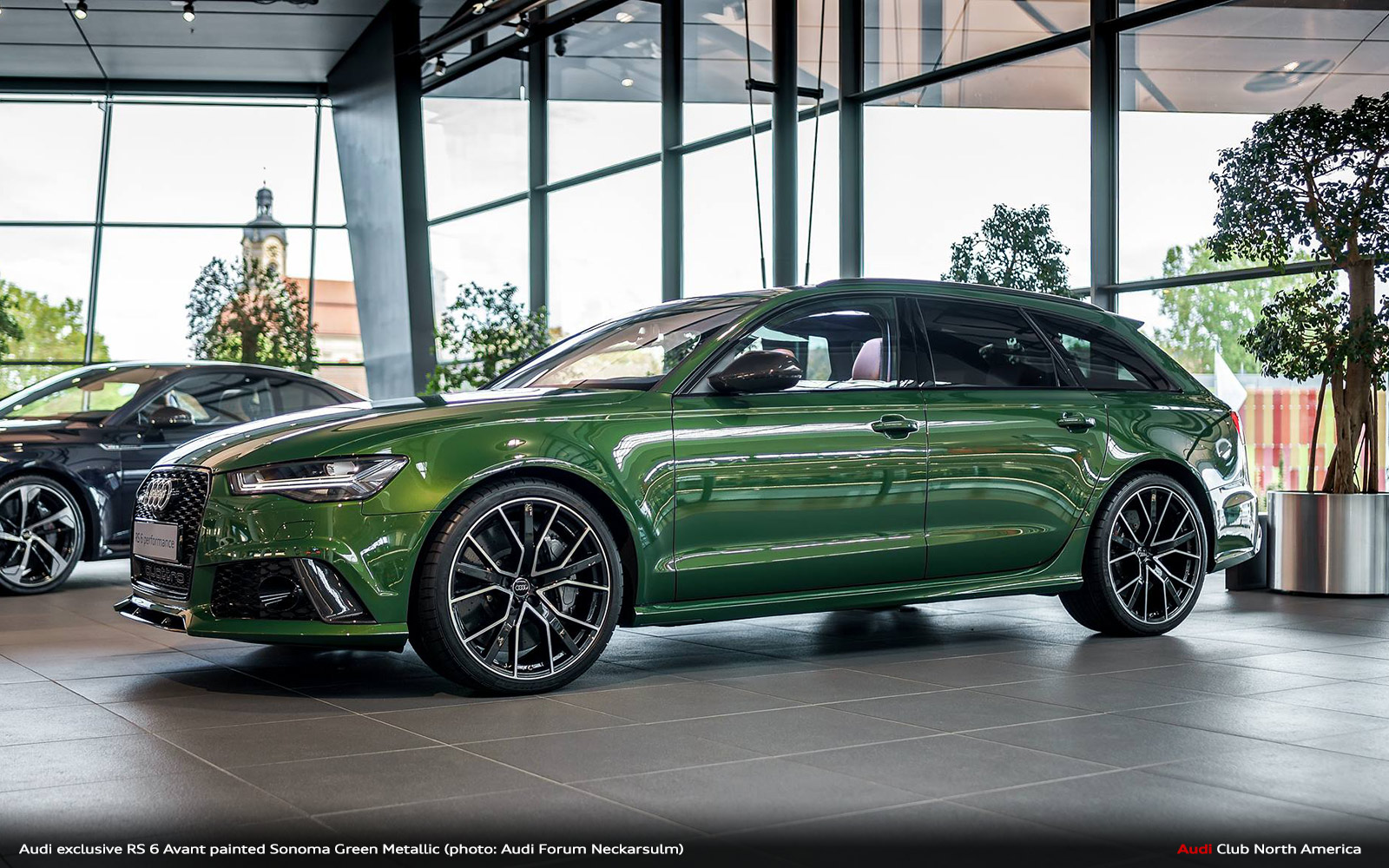 Audi exclusive Sonoma Green RS 6 Avant. You're Welcome ...