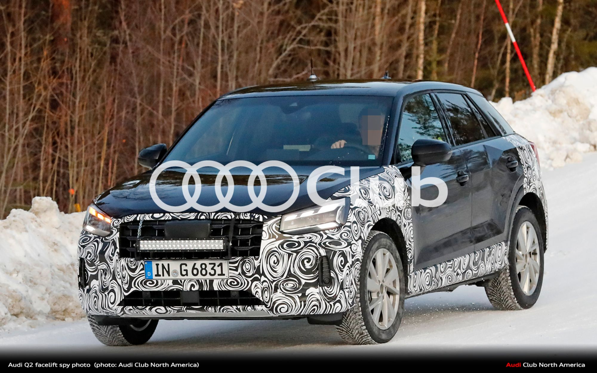 Spy Photos of the Refreshed Audi Q2