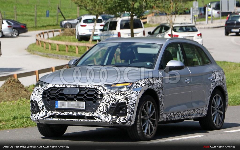 "Updated ""B9.5"" Audi Q5 Spied Testing"